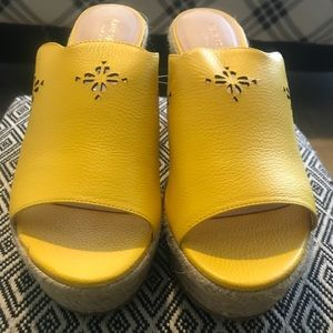 Kate Spade New! Espadrille Wedge Shoes! NWOT!